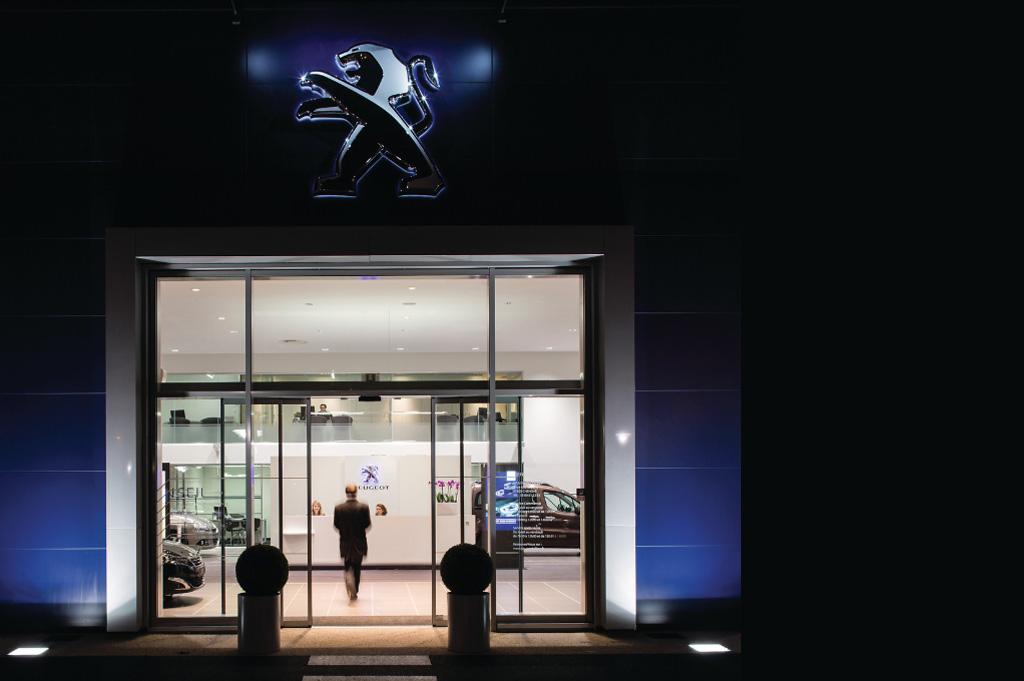 Concession Peugeot agréée Focal Inside